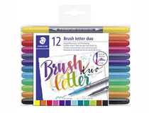 Penselpenna Staedtler duo 12st/fp