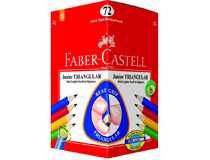 Blyertspenna Faber-Castell Junior Triangular 72st/fp