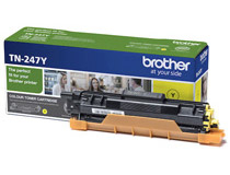 Toner Brother TN247Y 2,3k gul