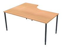 Lanab Skrivbord fast 1200x800 bok