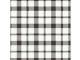Servett Duni 24x24 3-lag Izza svart/vit 250st/fp