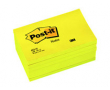 Post-it 655 76x127 neongul 6st/fp