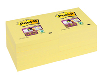 Post-it SS 76x76 gul 12st/fp