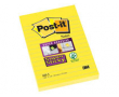 Post-it SS 102x152 neongul linjerat 6st/fp