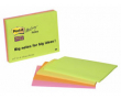 Post-it SS Meeting Notes 98x149 neon 4st/fp