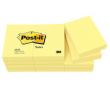 Post-it 653 38x51 gul 12st/fp
