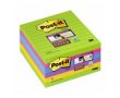 Post-it SS 101x101 Rainbow linjerat 6st/fp