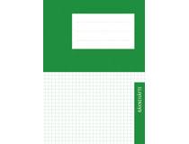 Räknehäfte A5 rutat 5x5mm grön 25st fp be629a6b08893