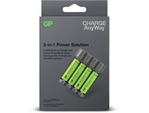 Batteriladdare GP Charge AnyWay 2-in-1