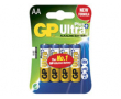 Batteri GP Ultra Plus Alkaline AA/LR6 4st/fp