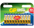 Batteri GP Ultra Plus Alkaline AA/LR6 10st/fp