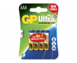 Batteri GP Ultra Plus Alkaline AAA/LR03 4st/fp
