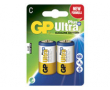 Batteri GP Ultra Plus Alkaline C/LR14 2st/fp