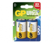 Batteri GP Ultra Plus Alkaline D/LR20 10x2st/fp