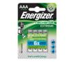 Batteri Energizer Recharge AAA 4st/fp