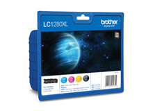 Bläckpatron Brother LC1280XL Value pack CMYK
