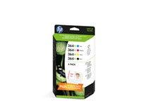 Bläck HP No364XL Value Pack CMYK 4st/fp