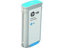 Bläck HP No 728 Cyan 130ml