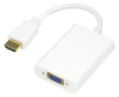 Adapter HDMI - VGA & ljud 0,2m