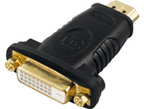 Adapter HDMI - DVI-D (ha-ho)