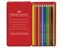 Färgpennor Faber-Castell Classic 12st/fp