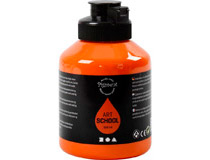 Akrylfärg Pigment orange 500ml