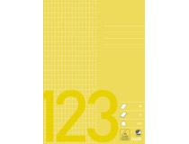 Räknehäfte Bantex A5 rutat 5x7mm gul 25st fp 35a6b290ff248