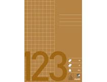 Räknehäfte Bantex A5 rutat 10x10mm brun 25st fp 9785b92c79f2f