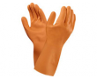 Latexhandske Orange Versa stl 10 12st/fp