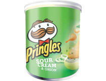 Pringles Sour cream & onion 40g 12st/fp