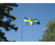 Nationsflagga Sverige 300cm