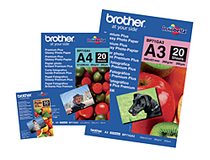 Fotopapper Brother A4 glatt 20st/fp