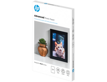 Fotopapper HP Advanced 10x15cm glossy 25st/fp