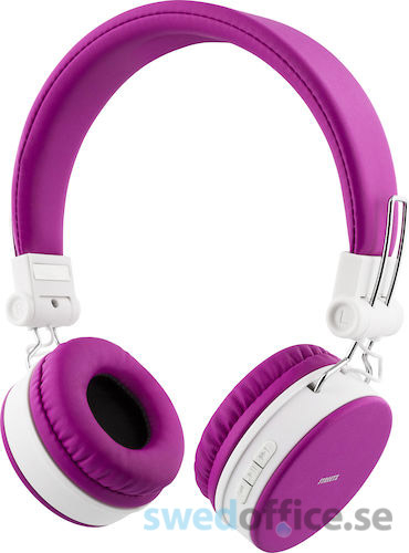 Hörlurar Streetz Bluetooth HL-425 rosa e68f026e41181